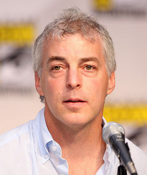 Jeff Pinkner - Pinkner at the San Diego Comic-Con International in July 2010.