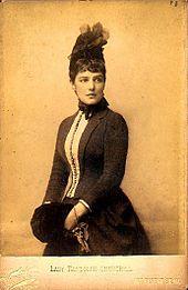 La mère de Winston, Lady Randolph Churchill
