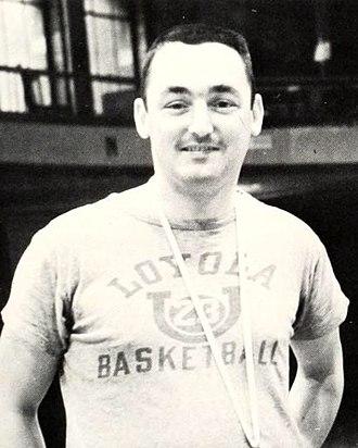 Jerry Lyne - Lyne from the 1963 Loyolan