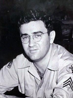 Jerry Siegel in Uniform ca1943 cropped