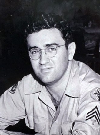 Jerry Siegel - Siegel during his service in the US Army in Hawaii, c. 1944