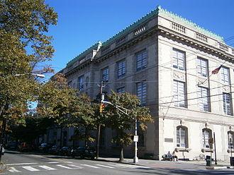 Van Vorst Park - Jersey City Main Library