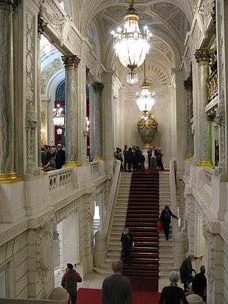 Opéra de Lille - Inside the opera house