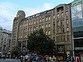 Jiná obchodní stavba - Palác Koruna (Nové Město), Praha 1, Václavské nám. 846, Nové Město - pohled z Václavského náměstí.JPG