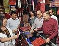 Jitendra Singh visiting after inaugurating the Purbashree stall, at Dilli Haat, INA, in New Delhi (1).jpg