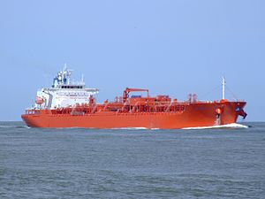 Jo Acer IMO 9272668 approaching Port of Rotterdam, Holland 08-Jul-2007.jpg