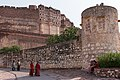 Jodhpur-Mehrangarh Fort-03-Advanced wall-20131011.jpg