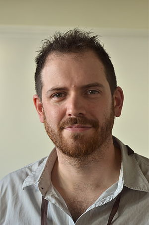Joe Abercrombie - Abercrombie at Swecon in 2012