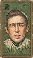 Joe Tinker, Chicago Cubs, baseball card portrait LCCN2008677359.jpg