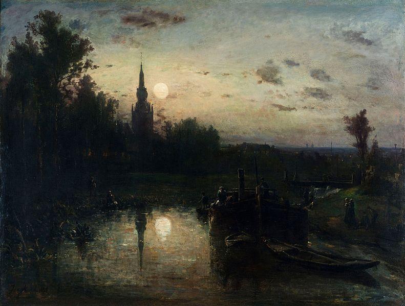 File:Johan Jongkind - Clair de lune à Overschie.jpg