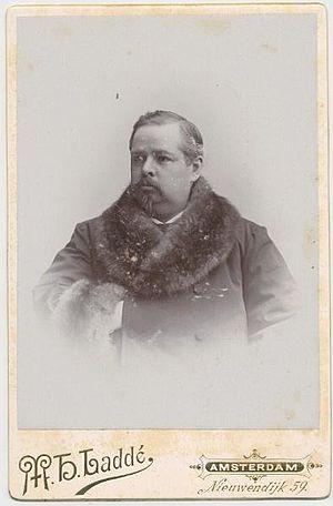 M.H. Laddé - Photograph by M.H. Laddé of J.W. Merkelbach