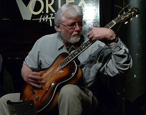 John Russell (musician) - John Russell performing with Mopomoso at the Vortex Jazz Club in April 2010.