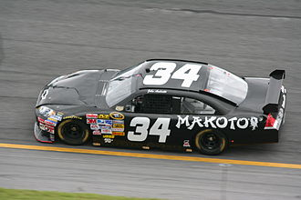Front Row Motorsports - The 34 car at Daytona in 2008 with driver John Andretti.