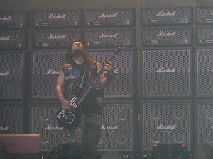 John DeServio - DeServio performing with Black Label Society at Allen Event Center in Allen, Texas on October 16, 2011