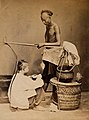 John Edmund Taylor, A Chinese Soup Seller Trading in Singapore (c 1880, Wellcome V0037508).jpg
