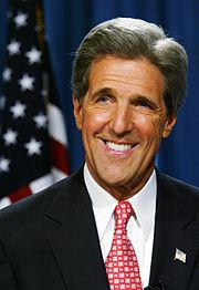 Senator John Kerry was the Democratic Party's 2004 candidate for President.