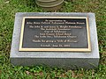 John Gilmore Riley House donations plaque.JPG