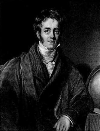John Herschel - Drawing of John Herschel, published in 1846