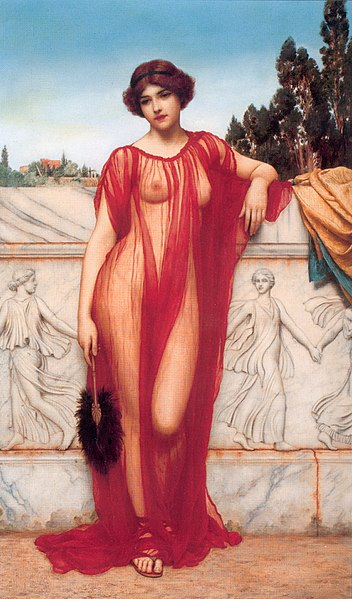File:John William Godward - Athenais - 1908.jpg