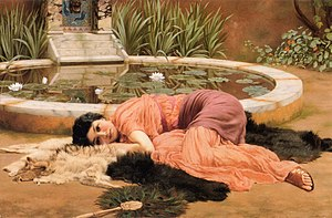 1904 in art - Image: John William Godward Dolce Far Niente (1904)