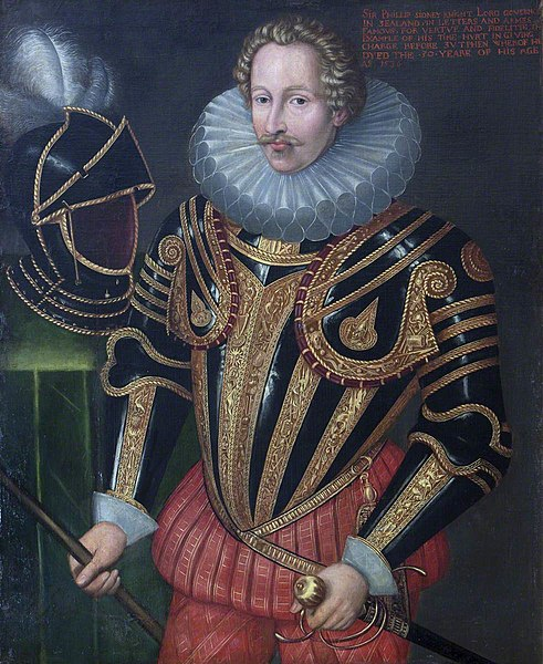 File:John de Critz the elder (1551-1552-1642) (after) - Sir Philip Sidney (1554–1586) - 355508 - National Trust.jpg