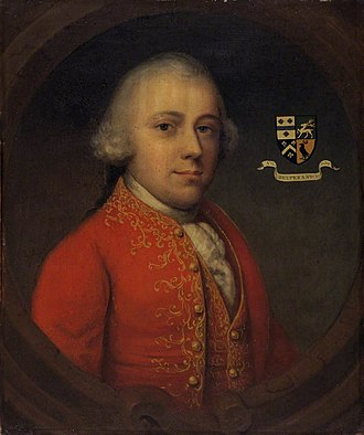 John Parry (1724–1797) - John Parry in a portrait from 1553-4.