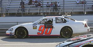 Start and park - Johnny Chapman and MSRP were one of the more notable start and park combinations in NASCAR in the late 2000s.