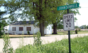 Steuben Township, Warren County, Indiana - Image: Johnsonville, Indiana