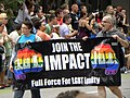Join the Impact at the Twin Cities Pride Parade 2011 (5873840105).jpg