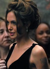 Анджелина джоли в нью йорке на