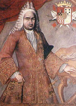 Jorge de Villalonga - Jorge de Villalonga, Viceroy of New Granada, 1719-24