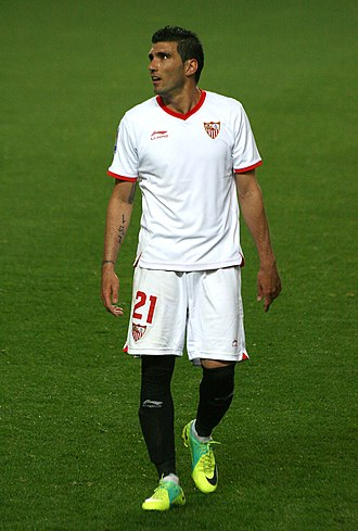 José Antonio Reyes - Reyes in action for Sevilla in 2012