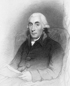 Joseph Black - Mezzotint engraving by James Heath after Sir Henry Raeburn