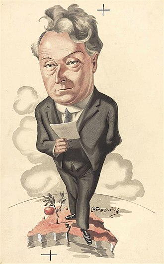 Joseph Lyons - Caricature of Lyons as premier