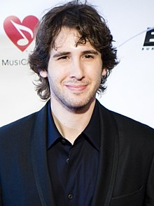 Josh Groban - the cool, hot,  actor, musician,   with German, Jewish, English, Norwegian,  roots in 2018