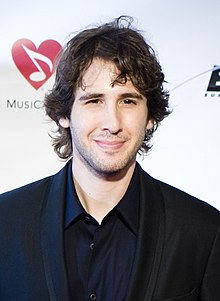 Josh Groban - the cool, hot,  actor, musician,   with German, Jewish, English, Norwegian,  roots in 2019