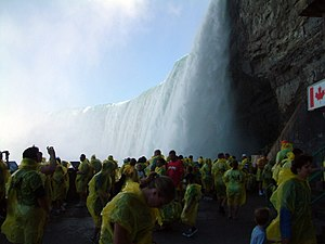 Journey Behind the Falls - The observation platform of the Journey Behind the Falls