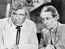 Will Rogers en Henry B. Walthall in Judge Priest