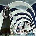 Juli Farkas, exhibition 1973 Canary Islands - Fortepan 44683.jpg