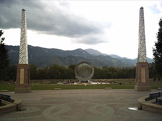 "Colorado Springs, Colorado, in popular culture - ""Stargate"" Fountain"