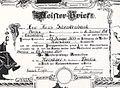 Kürschner-Meisterbrief für Hans Schenkenbach, Düsseldorf 1933.jpg