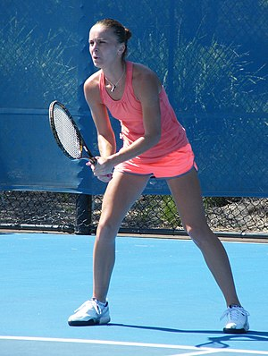 Karolina Šprem - Šprem at the 2010 NSW Medibank Tennis Open.