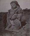 KITLV 377210 - Kassian Céphas - Temple Guard (Raksasa) at Tjandi Sewoe in Central Java - 1895-03.tif