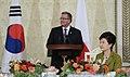 KOCIS Korea President Park Poland State Banquet 07 (10470399814).jpg