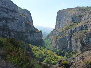 Karkar River - Image: Kaňon řeky Karkar, Náhorní Karabach