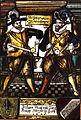 Kabinettscheibe Johan Bentz und Jörg Knapp Bürger in Horb 1627.jpg