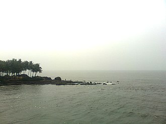 Kadalundi River - Kadalundi river empties to Arabian Sea
