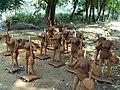 Kadua murti Clay idol Sajanagarh Baleswar Odisha.jpg