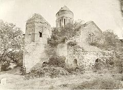 Kakhetia, Ruined Monastery of St Nina near Kardanakhi (A).jpg