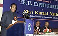 Kamal Nath addressing at the Awards functions of the Export Promotion Council for Export Oriented Units (EOUs) and Special Economic Zones (SEZs), in New Delhi on January 19, 2007.jpg